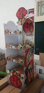 tukangprint cardboard display
